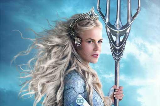 Aquaman: Nicole Kidman responde a la polémica por su edad