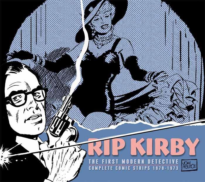 Reseña: Rip Kirby; El primer detective moderno