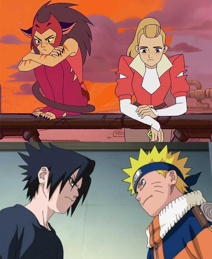 El motivo por el que She-Ra de Netflix es una copia de Naruto