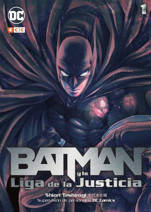 Batman y la liga de la justicia MANGA Shiori Teshirogi