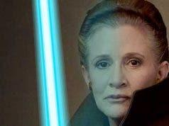 Star Wars 9: Filtran una escena de Leia blandiendo un sable láser