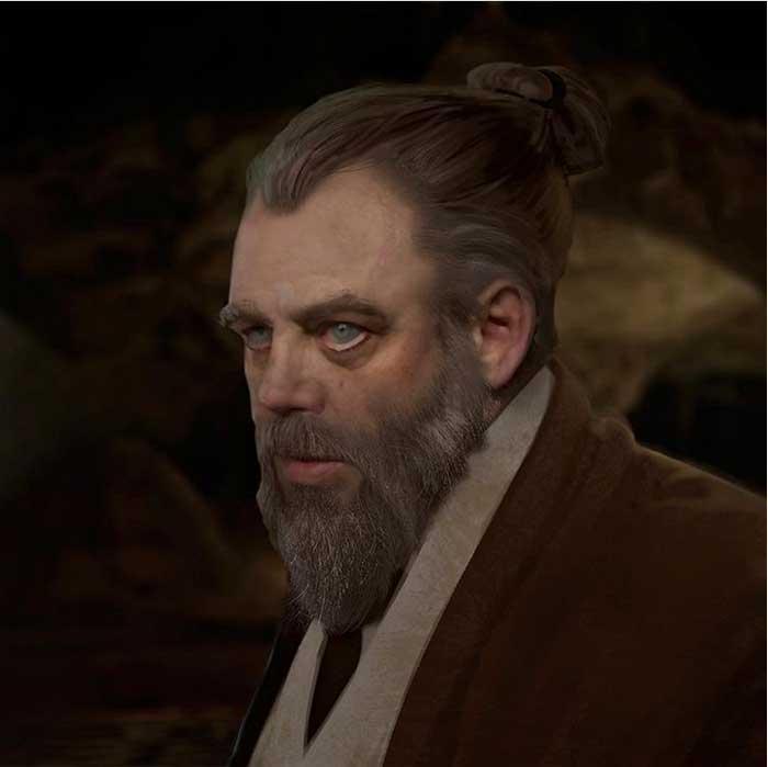"""Star Wars: Se basaron en """"este"""" personaje para hacer a Luke Skywalker en Los últimos Jedi"""