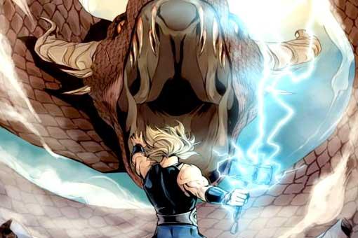 Vengadores: Infinity War tenía una batalla de Thor contra serpientes