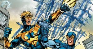 Heroes en crisis Blue and Gold
