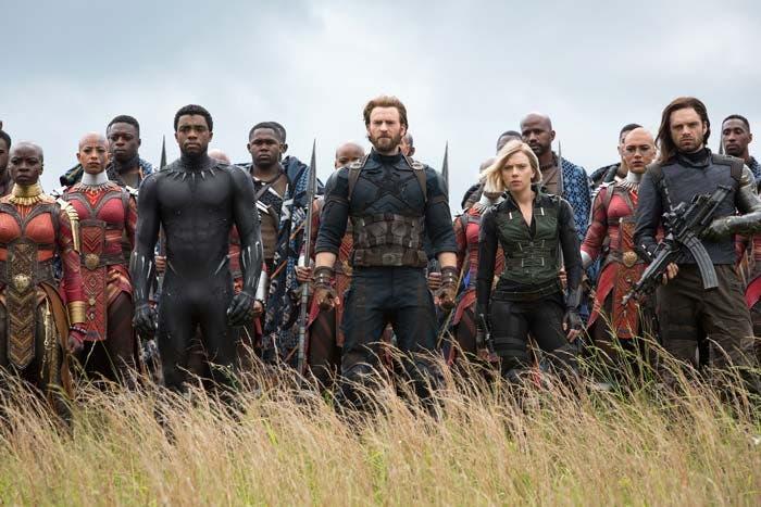 Batalla de Wakanda. Vengadores: Infinity war