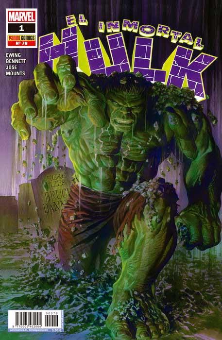 Cover el inmortal hulk