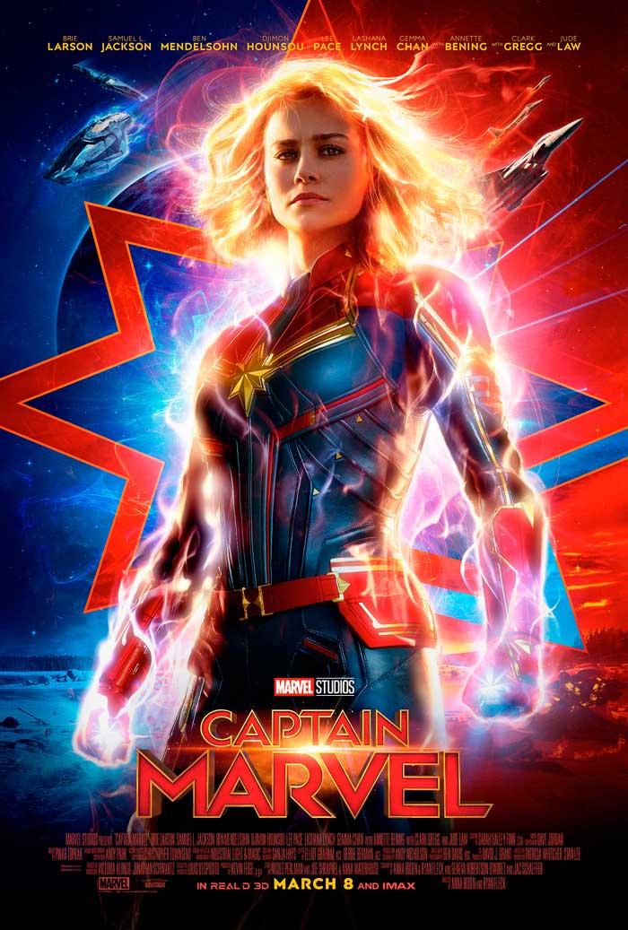 Capitana Marvel: Un Espectacular Segundo Trailer