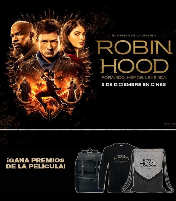 ¡Concurso de la película Robin Hood! - Cinemascomics.com