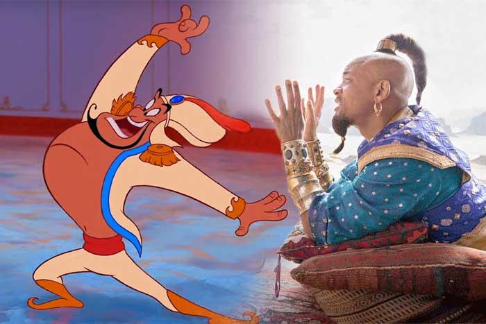 Aladdin: ¿Será el Genio azul? Will Smith da la respuesta