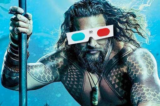 ¿Aquaman merece la pena verla en 3D?