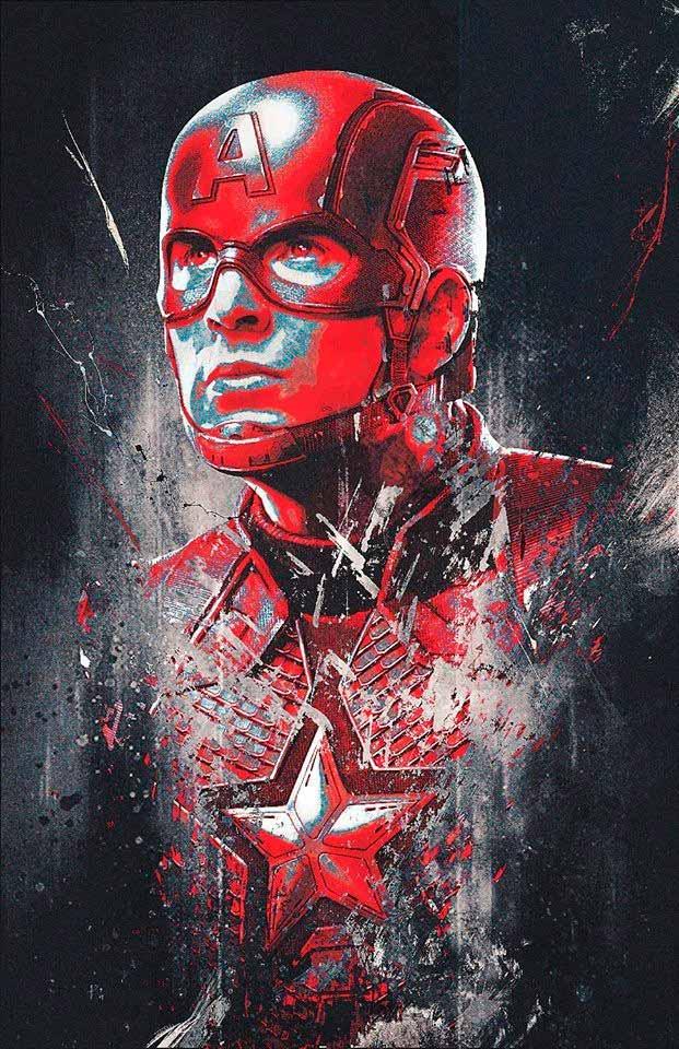 Captain America - Avengers: Endgame