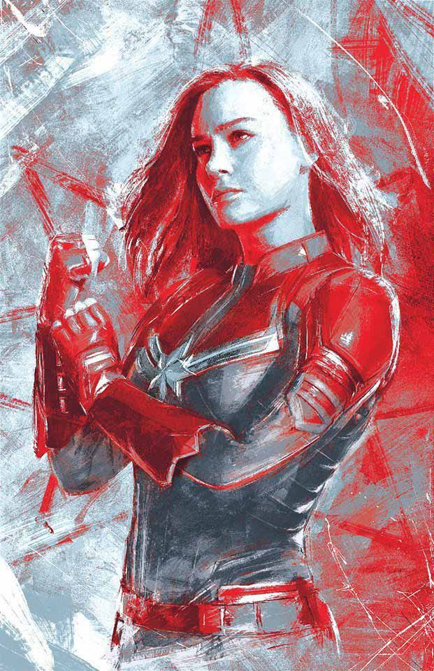 Capitana Marvel - Vengadores: Endgame
