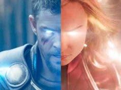 ¿Capitana Marvel es digna de sujetar el martillo de Thor?