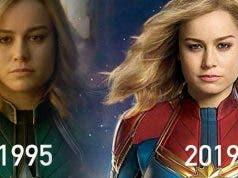 Motivo por el que Capitana Marvel no envejece para Vengadores 4