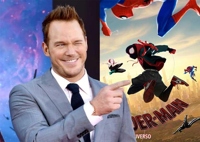 Chris Pratt hace la crítica de Spider-Man: Un nuevo universo