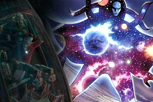 Fan Art del Dios Cósmico de Marvel Studios en Vengadores: Endgame