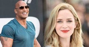 Disney le paga el doble a The Rock que a Emily Blunt por Jungle Cruise