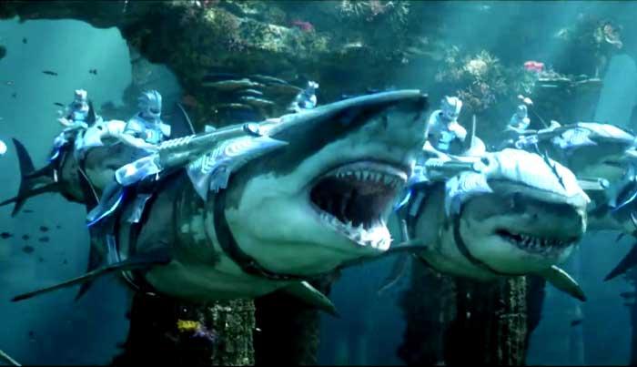 """Eliminaron """"esta"""" escena de Aquaman por demasiado sangrienta"""