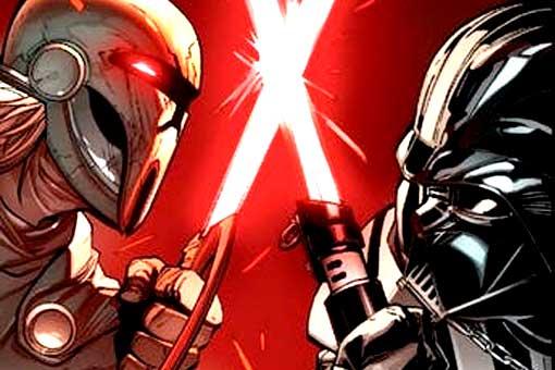 La épica batalla de Darth Vader contra un poderoso Lord Sith