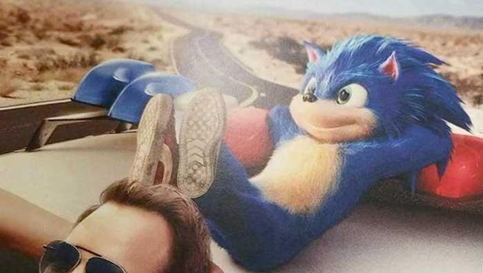 Filtran el aspecto de Sonic en la película de acción real