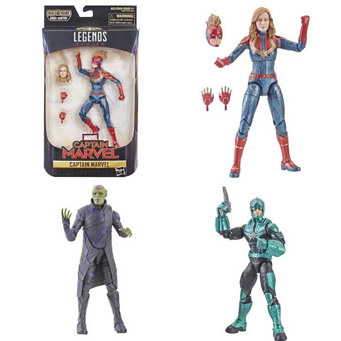 Filtran juguetes que hacen un súper SPOILER de Capitana Marvel