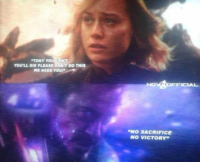 Filtran un momento impactante del tráiler de Vengadores 4