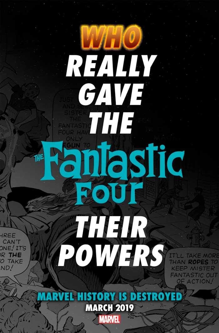 Marvel destruirá su propio Universo para encajar a Los Cuatro Fantásticos