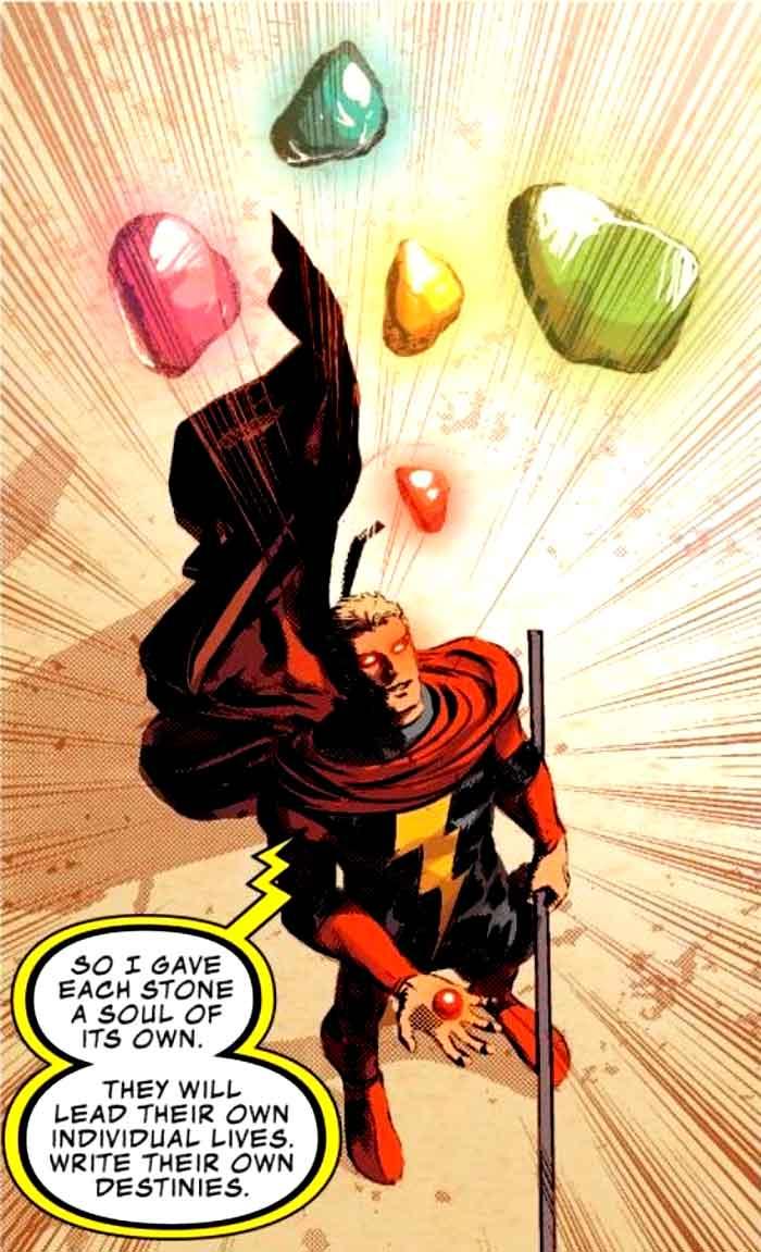 Marvel le otorga un nuevo poder a las Gemas del Infinito