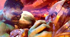 Motivo por el que Thanos derrotó a Hulk en Vengadores: Infinity War