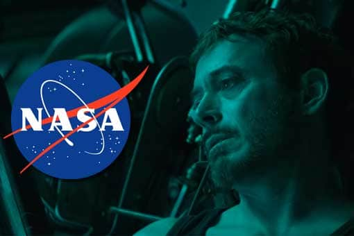 La NASA sabe como rescatar a Tony Stark en Vengadores: Endgame