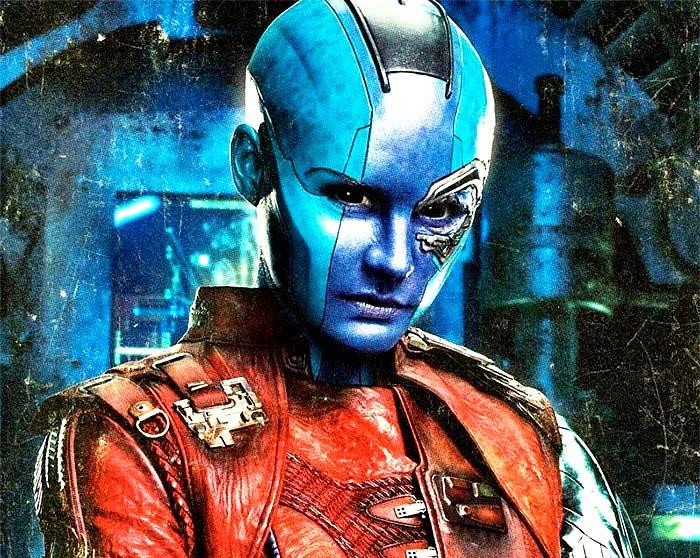 Nebula se enfrentará con Thanos en Vengadores: Endgame