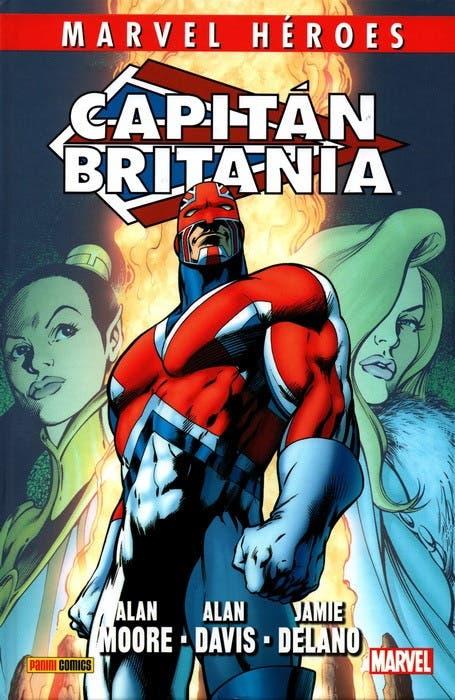 Portada de Capitán Britania (Panini Cómics)