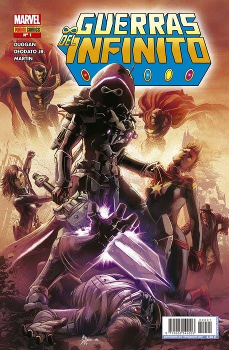 Portada de Guerras del Infinito 1 (Marvel)