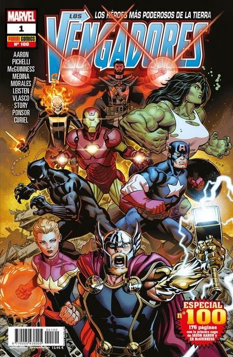 Comic los Vengadores especial nº 100