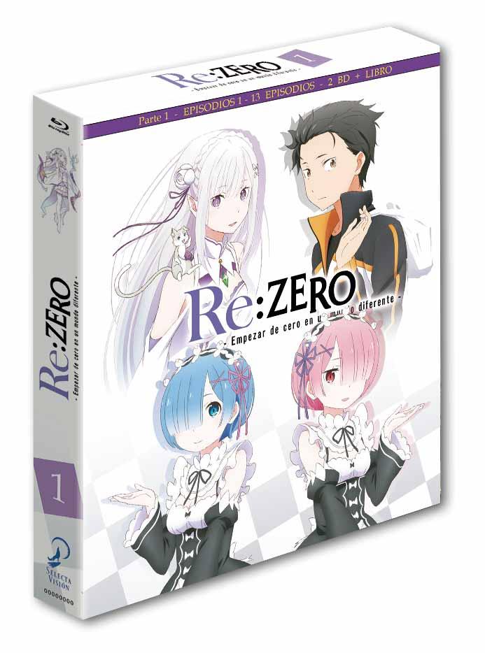 re: zero Blu-ray edición coleccionista