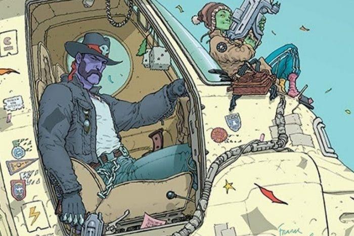 Sharkey the Bounty Hunter de Mark Millar para Netflix