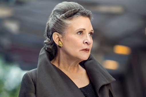 Star Wars 9 tiene mucho materia de Carrie Fisher para utilizar