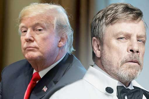 Star Wars: Mark Hamill dice que Darth Vader es mejor que Donald Trump