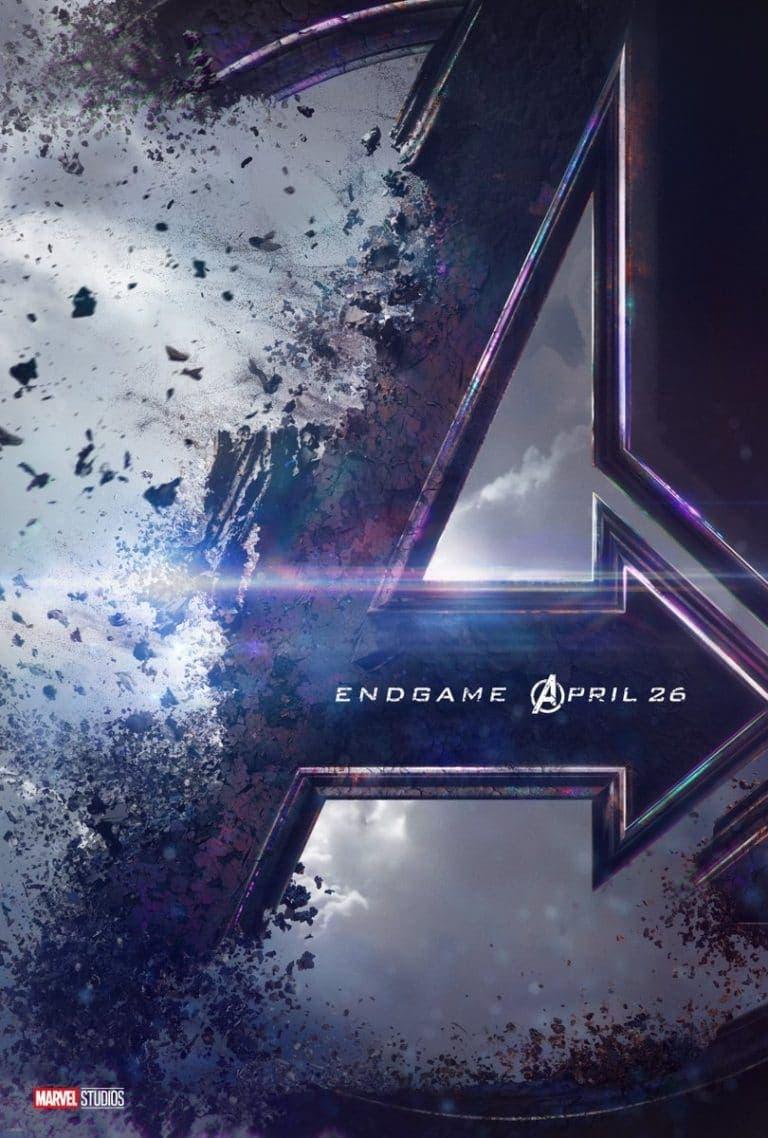 teaser poster de Vengadores 4 Endgame