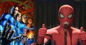 La referencia a Los 4 fantásticos en el tráiler de Spider-man: Lejos de casa