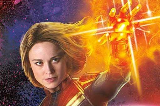 4 pósters espectaculares de la película Capitana Marvel