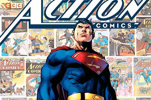 Action Comics 80 años de Superman