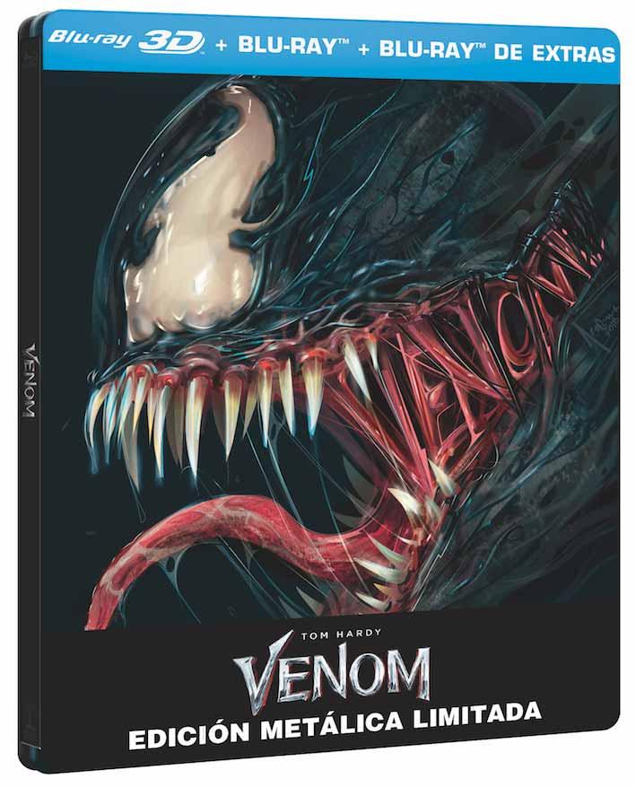 Venom: Análisis del Blu-Ray Steelbook