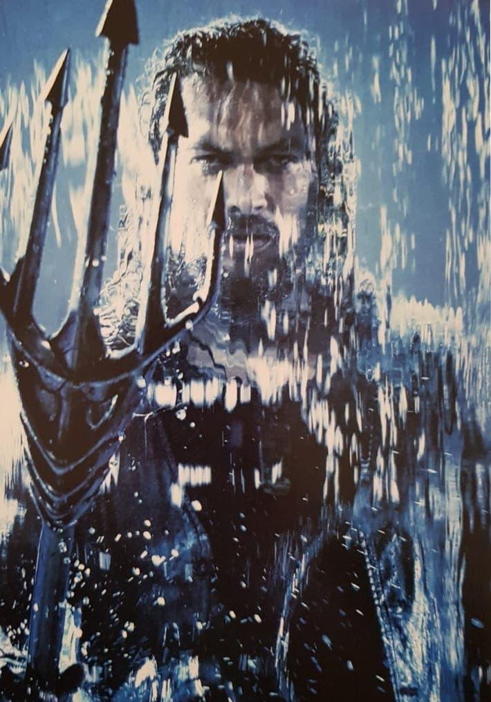 Aquaman: El superhéroe se cuela en el mundo del arte