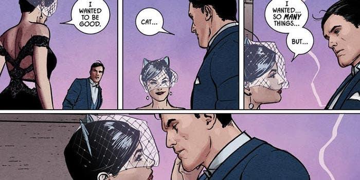 La boda falsa de Batman y Catwoman (DC Comics)
