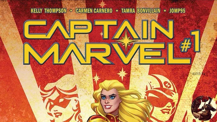 Capitana Marvel 1, de Kelly Thompson y Carmen Carnero