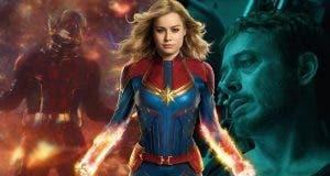 Capitana Marvel y Vengadores: Endgame