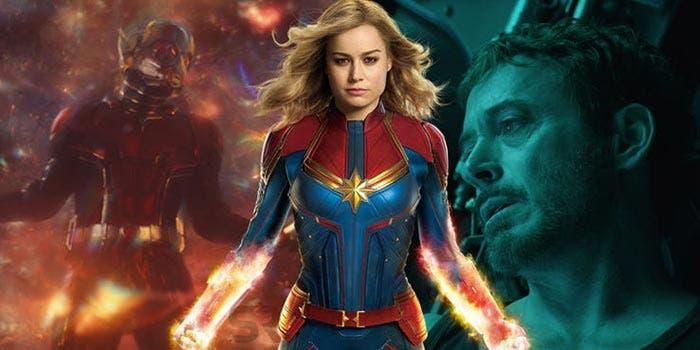 "Vengadores: Endgame introducirá ""así"" a la Capitana Marvel"