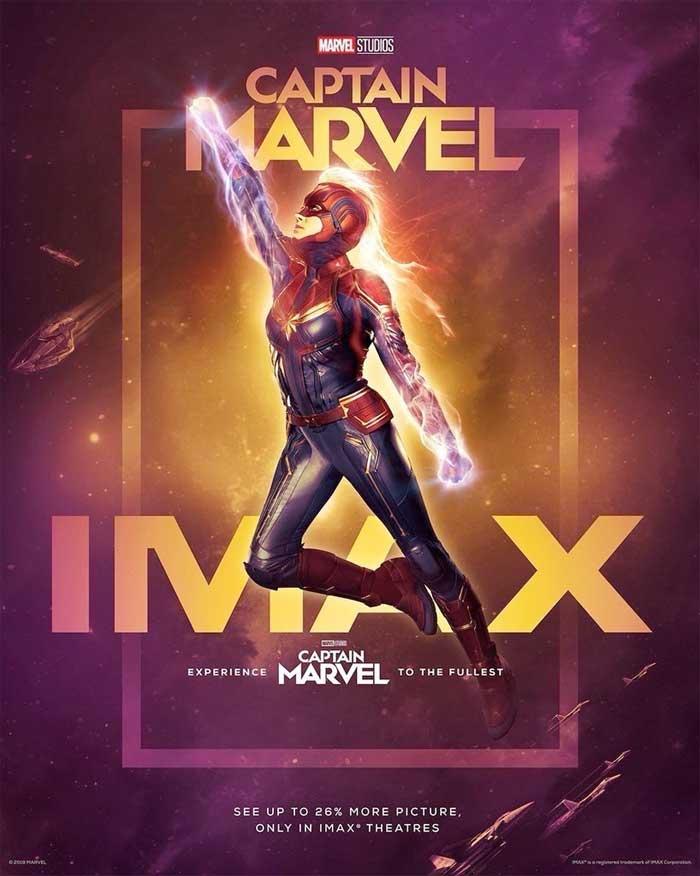 Capitana Marvel tiene nuevo tráiler lleno de acción y humor