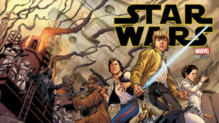 Los cómics de Star Wars en Marvel